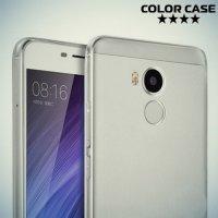 Тонкий силиконовый чехол для Xiaomi Redmi 4 Pro / Prime  - Прозрачный