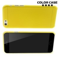 Ультратонкий кейс чехол для iPhone 6S / 6-Желтый