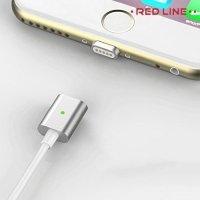Универсальный магнитный кабель Lightning для iPhone и iPad - Серебристый