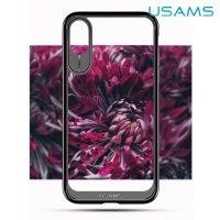 USAMS Miya Series силиконовый чехол для iPhone X - Прозрачный
