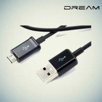 Универсальный кабель для зарядки, передачи данных и синхронизации - Micro USB черный 3 метра