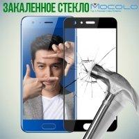 Закаленное защитное стекло для Huawei Honor 9 на весь экран - Черный