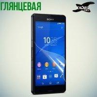 Защитная пленка для Sony Xperia Z3 Compact D5803 - Глянцевая