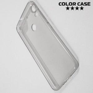 Тонкий силиконовый чехол для HTC Desire 10 pro - Серый