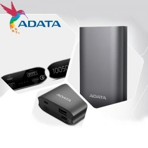 Внешний аккумулятор ADATA A10050QC с быстрой зарядкой Quick Charge 3.0 10050 mAh