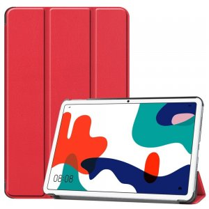 Двухсторонний чехол книжка для Huawei MatePad 10.4 с подставкой - Красный