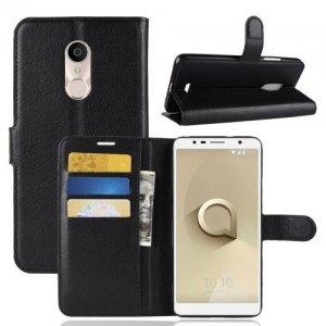 Flip Wallet чехол книжка для Alcatel 3C 5026D - Черный