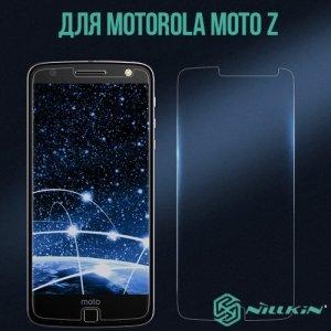 Противоударное закаленное стекло на Motorola Moto Z Nillkin Amazing H+ PRO