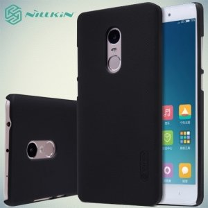 Чехол накладка Nillkin Super Frosted Shield для Xiaomi Redmi Note 4 - Черный