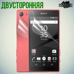 Защитная пленка для Sony Xperia Z5 Compact E5823 - Двухсторонняя