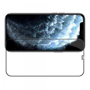 NILLKIN Amazing CP+ Противоударное Полноэкранное Олеофобное Защитное Стекло для iPhone 12 Pro Max Черное