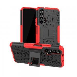 ONYX Противоударный бронированный чехол для Huawei Honor 20 Pro - Красный