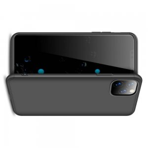 GKK 360 Пластиковый чехол с защитой дисплея для iPhone 11 Pro Max Черный