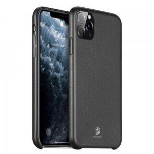 DUX DUCIS Тонкий Чехол для Телефона iPhone 11 Pro с Покрытием из Искусственной Кожи Черный
