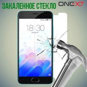 OneXT Закаленное защитное стекло для Meizu m3s mini