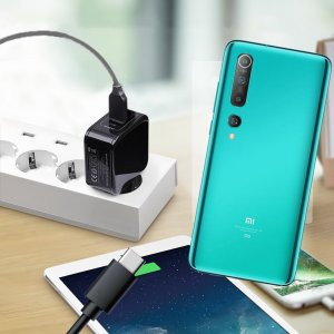 Зарядка для Xiaomi Mi 10 / Mi 10 Pro телефона 2.4А и USB кабель