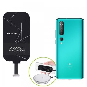 Беспроводная зарядка для Xiaomi Mi 10 / Mi 10 Pro адаптер приемник