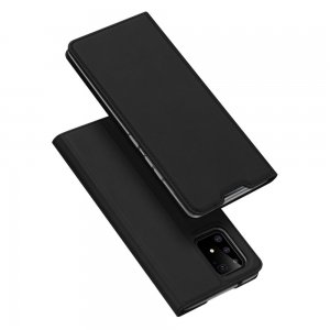 Dux Ducis чехол книжка для Samsung Galaxy S10 Lite с магнитом и отделением для карты - Черный