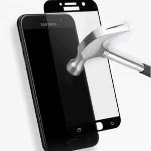 3D Red Line Олеофобное Закаленное Защитное Стекло для Samsung Galaxy A5 2017 SM-A520F золотое