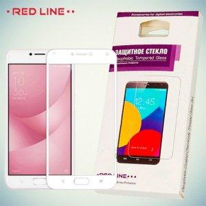 Защитное стекло для ASUS ZenFone 4 Max ZC554KL - Белое Red Line