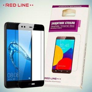 Защитное стекло для Huawei Nova lite 2017 - Черное Red Line