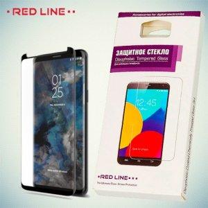 3D Защитное стекло для Samsung Galaxy S9 - Черное Red Line