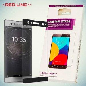 3D Защитное стекло для Sony Xperia XA2 Ultra - Черное Red Line