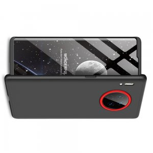 GKK 360 Пластиковый чехол с защитой дисплея для Huawei Mate 30 Pro Черный