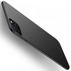 Mofi Slim Armor Матовый жесткий пластиковый чехол для iPhone 11 Pro - Черный