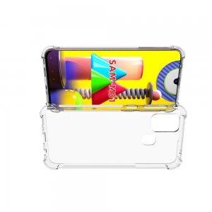 Ультратонкий прозрачный силиконовый чехол для Samsung Galaxy M31