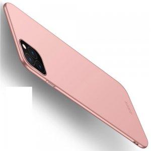 Mofi Slim Armor Матовый жесткий пластиковый чехол для iPhone 11 Pro - Светло-Розовый
