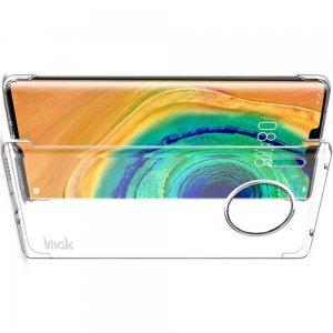 IMAK Crystal Прозрачный пластиковый кейс накладка для Huawei Mate 30 Pro