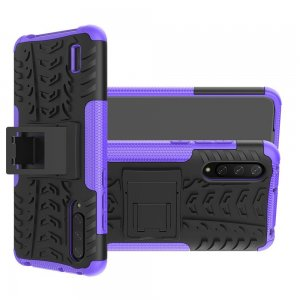 ONYX Противоударный бронированный чехол для Xiaomi Mi 9 lite - Фиолетовый Черный