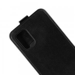 Флип чехол книжка вертикальная для Samsung Galaxy A51 - Черный