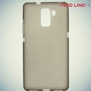 Red Line силиконовый чехол для Huawei Honor 7 - Полупрозрачный черный