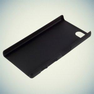 Кейс накладка для Sony Xperia Z5 Compact E5823 - Черный