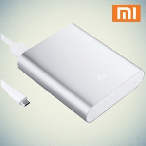 Аккумулятор Xiaomi Mi USB внешний 2.1A 10400mAh серебрянный