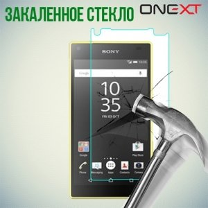 OneXT Закаленное защитное стекло для Sony Xperia Z5 Compact