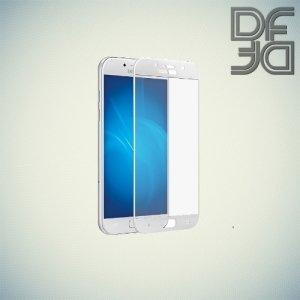 DF Закаленное защитное стекло на весь экран для Samsung Galaxy A5 2017 SM-A520F - Белый