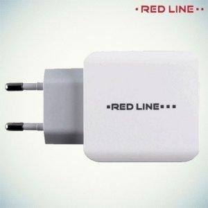 Адаптивная быстрая зарядка 3 USB порта 3.1А Red Line Superior