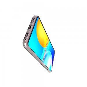 AirBags Case противоударный силиконовый чехол с усиленной защитой для Huawei P Smart 2021 Прозрачный