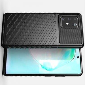 AirBags Case противоударный силиконовый чехол с усиленной защитой для Samsung Galaxy S10 Lite Черный