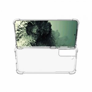 AirBags Case противоударный силиконовый чехол с усиленной защитой для Samsung Galaxy S21 Plus / S21+ Прозрачный