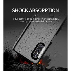 AirBags Case противоударный силиконовый чехол с усиленной защитой для Sony Xperia 5 II Черный