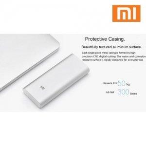 Аккумулятор Xiaomi Mi Power Bank 16000 mAh Внешний 2 USB Cеребрянный