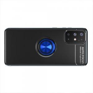 ArmaRing Двухкомпонентный чехол для Samsung Galaxy A31 с кольцом для магнитного автомобильного держателя - Синий / Черный
