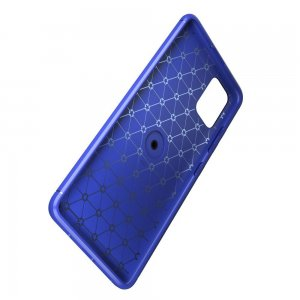 ArmaRing Двухкомпонентный чехол для Samsung Galaxy A51 с кольцом для магнитного автомобильного держателя - Синий