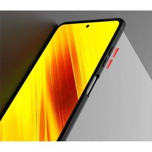 ArmaRing Двухкомпонентный чехол для Xiaomi Poco X3 NFC с кольцом для магнитного автомобильного держателя - Черный