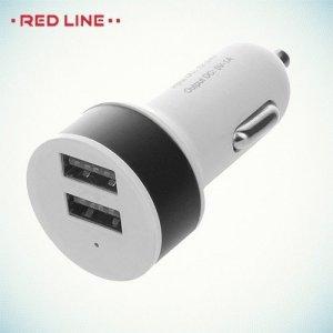 Автомобильная зарядка 2 USB порта 1А и 2.1А C19 черный