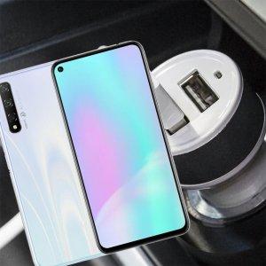 Автомобильная зарядка для Huawei Honor 20S высокой мощности 2 USB 2.1A